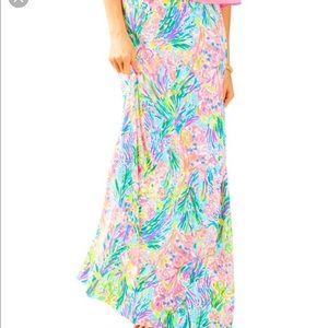 NWT Lilly Pulitzer Nola Beach Maxi Skirt